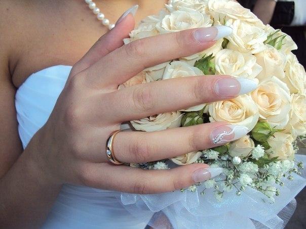 фото свадебного маникюра 5