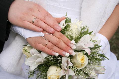 фото свадебного маникюра 16