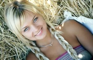 волнистые волосы из косичек
