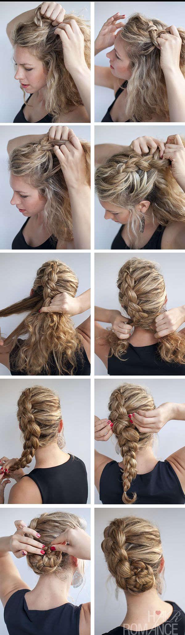 плетение косичек на кудрявые волосы фото