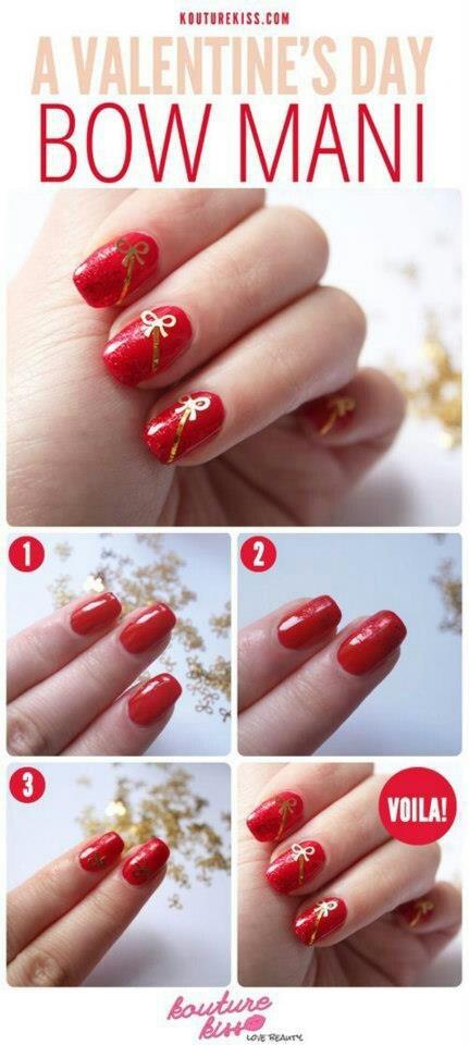 узоры на ногтях, с использованием зубочисток