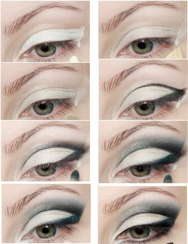 макияж кошачий глаз фото