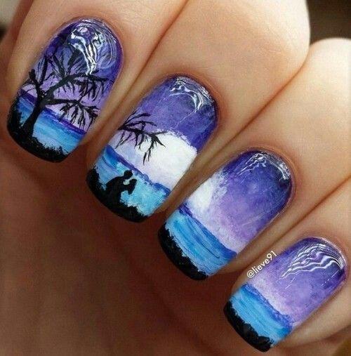 рисунки на ногтях фото 9