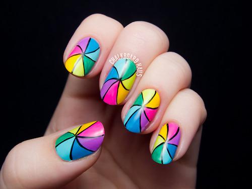 рисунки на ногтях фото 14