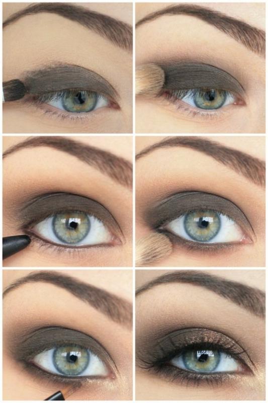 пошаговая инструкция по созданию макияжа в стиле смоки-айс
