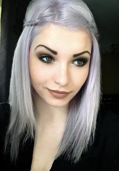 Пепельный цвет волос как сделать