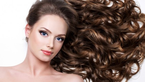 фото кудри на длинных волосах