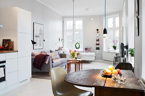 Делаем маленькую квартиру уютной и стильной